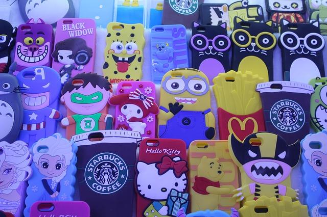 dětské mobilní obaly