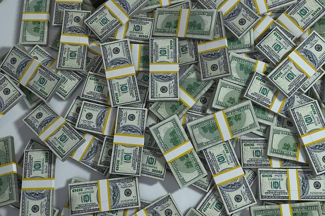 balíčky dolarů