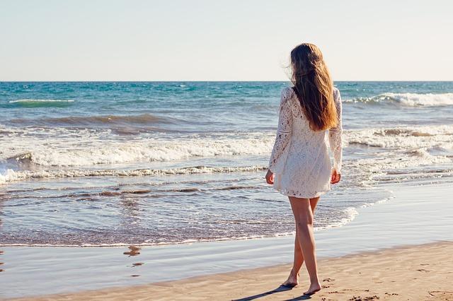 vlasy a moře