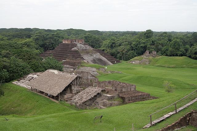 zřícenina v Mexiku
