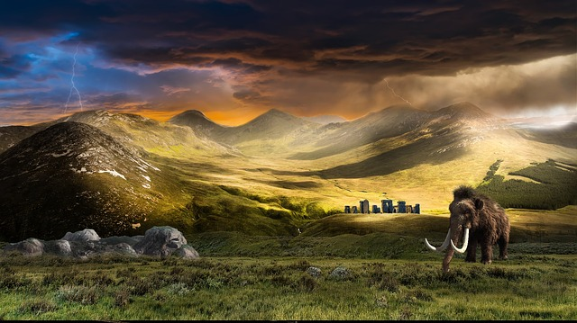 krajina a mamut