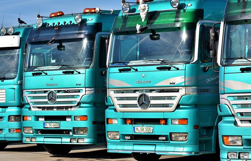 kamiony Mercedes
